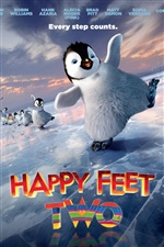 Happy Feet Two cartoon movie iPhone wallpaper