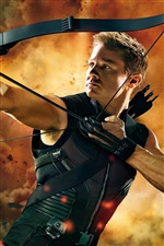 Hawkeye in The Avengers iPhone Wallpaper