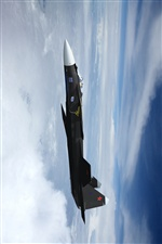 High-flying aircraft iPhone wallpaper