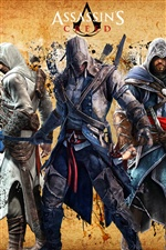 Hot game Assassin's Creed iPhone wallpaper