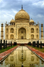 India Agra Taj Mahal iPhone wallpaper