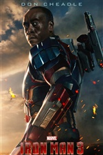 Iron Man 3, Don Cheadle iPhone Wallpaper