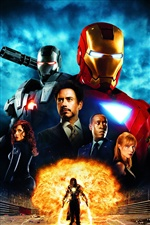 Iron Man hot movie iPhone wallpaper