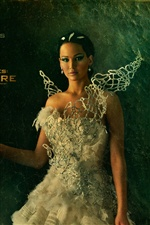 Jennifer Lawrence, The Hunger Games: Catching Fire iPhone wallpaper