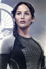 Jennifer Lawrence in The Hunger Games: Catching Fire 2013 iPhone wallpaper