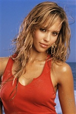Jessica Alba 01 iPhone wallpaper