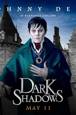 Johnny Depp in Dark Shadows iPhone Wallpaper