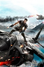 Just Cause 2 iPhone wallpaper