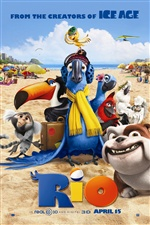 Rio 3D movie iPhone wallpaper