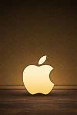 Apple in the room iPhone wallpaper