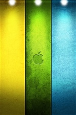 Apple three color board iPhone wallpaper