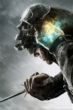 Dishonored PC game iPhone wallpaper