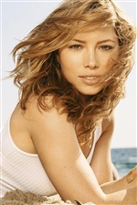 Jessica Biel 01 iPhone wallpaper