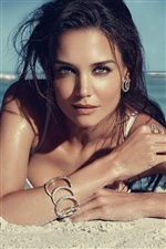 Katie Holmes 01 iPhone Wallpaper