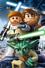 LEGO Star Wars III: The Clone Wars iPhone wallpaper