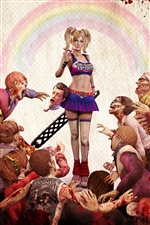 Lollipop Chainsaw PC game iPhone wallpaper
