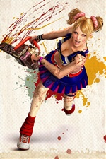 Lollipop Chainsaw girl iPhone wallpaper