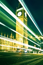 London's Big Ben at night iPhone Wallpaper