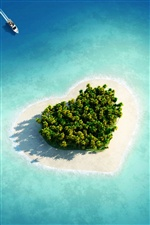 Love Island iPhone wallpaper