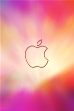 Pink dream background Apple iPhone Wallpaper