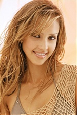 Jessica Alba 07 iPhone wallpaper