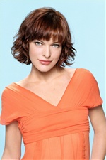Milla Jovovich 02 iPhone wallpaper