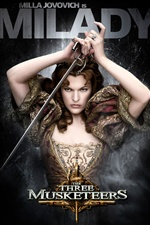 Milla Jovovich in The Three Musketeers iPhone wallpaper