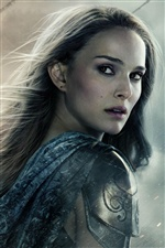 Natalie Portman in Thor: The Dark World iPhone Wallpaper