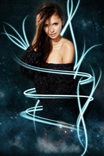 Nina Dobrev 05 iPhone wallpaper