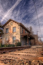 Norristown railroad iPhone wallpaper