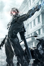 PC game Metal Gear Rising: Revengeance iPhone wallpaper