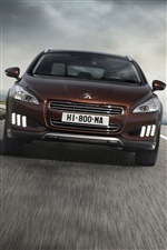Peugeot 508 car iPhone wallpaper