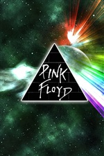 Pink Floyd creative picture iPhone wallpaper