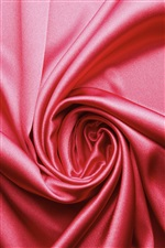 Pink cloth still life iPhone wallpaper
