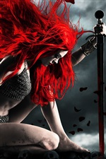 Red Sonja iPhone Wallpaper