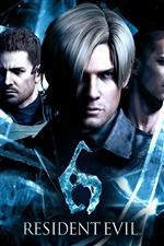 Resident Evil 6 PC game iPhone wallpaper