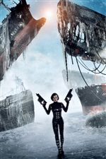 Resident Evil: Retribution iPhone wallpaper