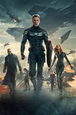 Captain America: The Winter Soldier iPhone wallpaper