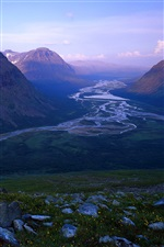 Rapa River, Sweden, Sarek National Park iPhone Wallpaper
