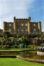 Scotland Culzean Castle iPhone wallpaper
