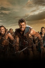 Spartacus: War of the Damned, TV series iPhone wallpaper