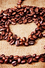 Still life, coffee, grains iPhone wallpaper