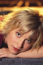 Allison Mack 01 iPhone wallpaper