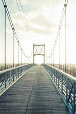 Bridge, rays iPhone wallpaper