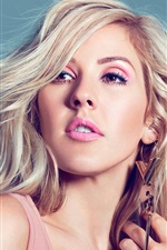 Ellie Goulding 02 iPhone wallpaper