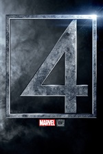 Fantastic Four logo iPhone wallpaper