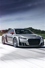 2015 Audi TT clubsport turbo concept car iPhone wallpaper