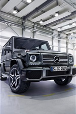 2015 Mercedes-Benz AMG G63 SUV car iPhone wallpaper