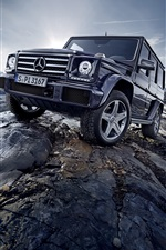 2015 Mercedes-Benz G500 W463 car iPhone wallpaper