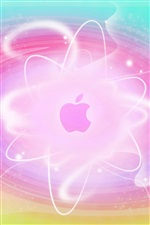 Abstract background pink Apple iPhone wallpaper